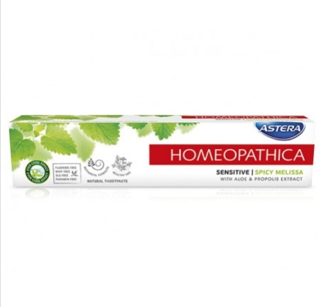 Astera Homeopathica Sensitive Паста за зъби